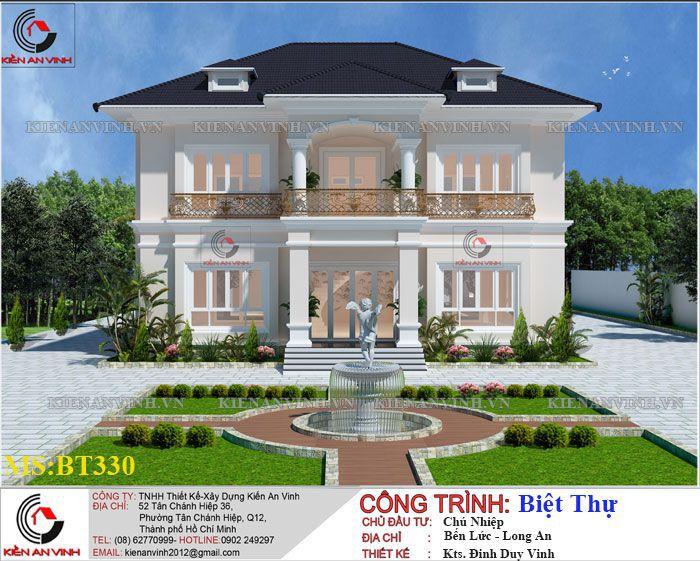 Kiến Trúc Biệt Thự Vườn Kết Hợp Văn Phòng-1