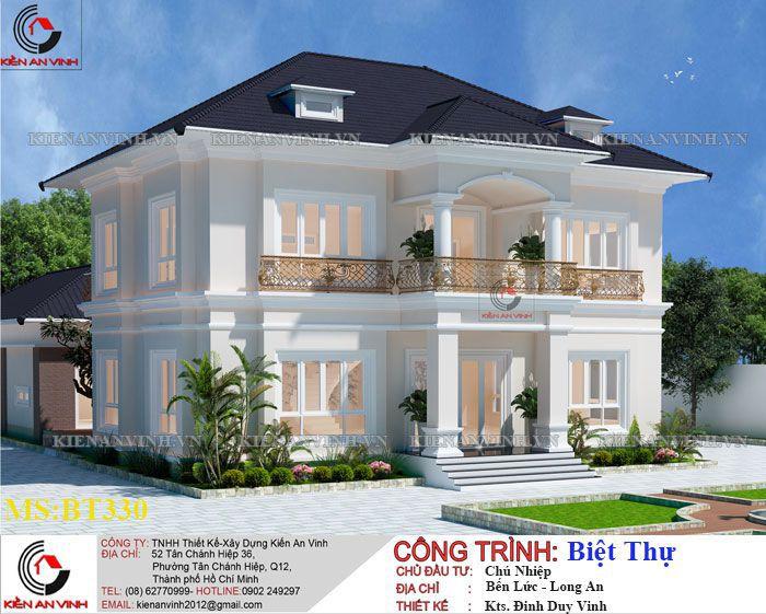 Kiến Trúc Biệt Thự Vườn Kết Hợp Văn Phòng-2