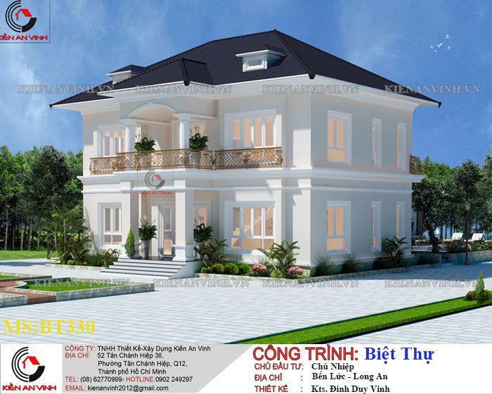 Kiến Trúc Biệt Thự Vườn Kết Hợp Văn Phòng-3