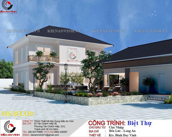 Kiến Trúc Biệt Thự Vườn Kết Hợp Văn Phòng-4