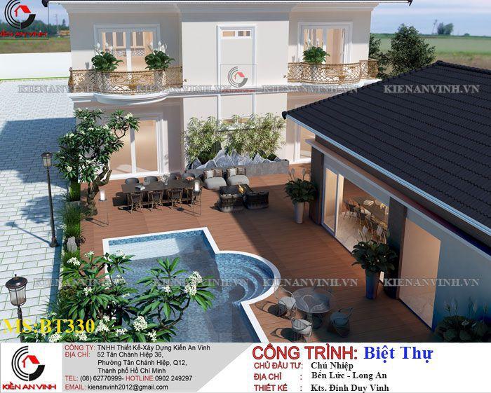 Kiến Trúc Biệt Thự Vườn Kết Hợp Văn Phòng-5