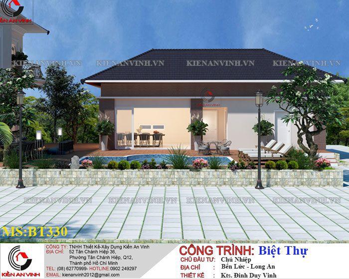 Kiến Trúc Biệt Thự Vườn Kết Hợp Văn Phòng-7