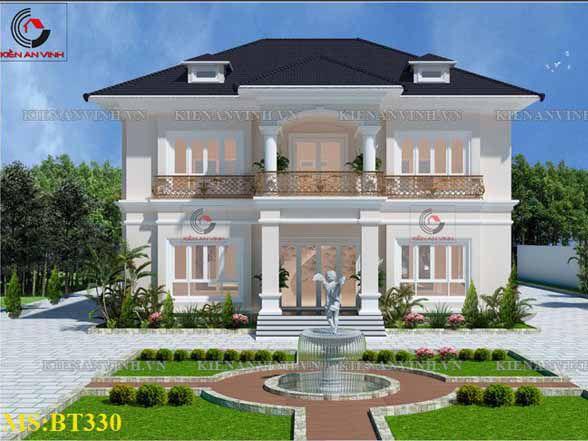 Kiến Trúc Biệt Thự Vườn Kết Hợp Văn Phòng
