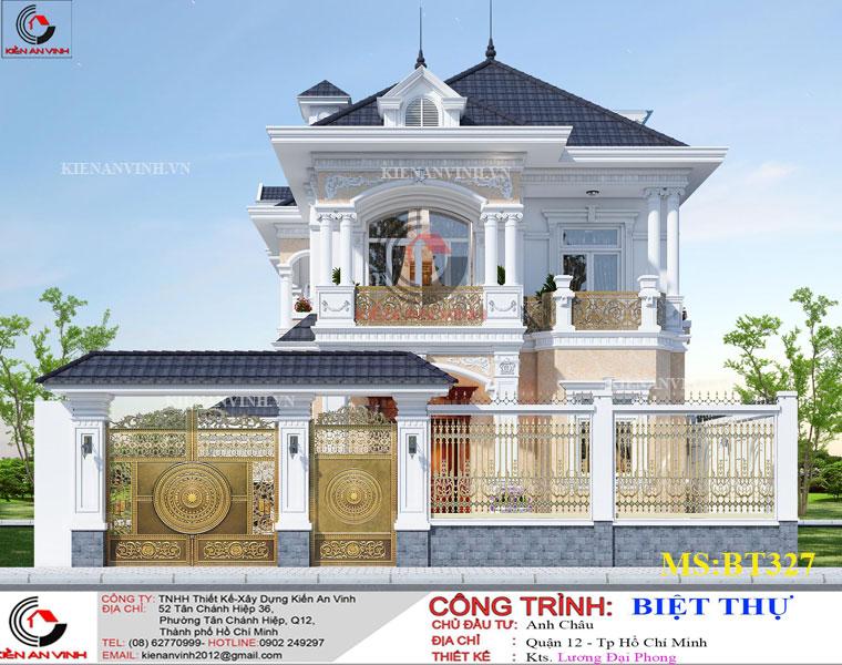Mẫu Biệt Thự Mái Thái đẹp Năm 2019-1