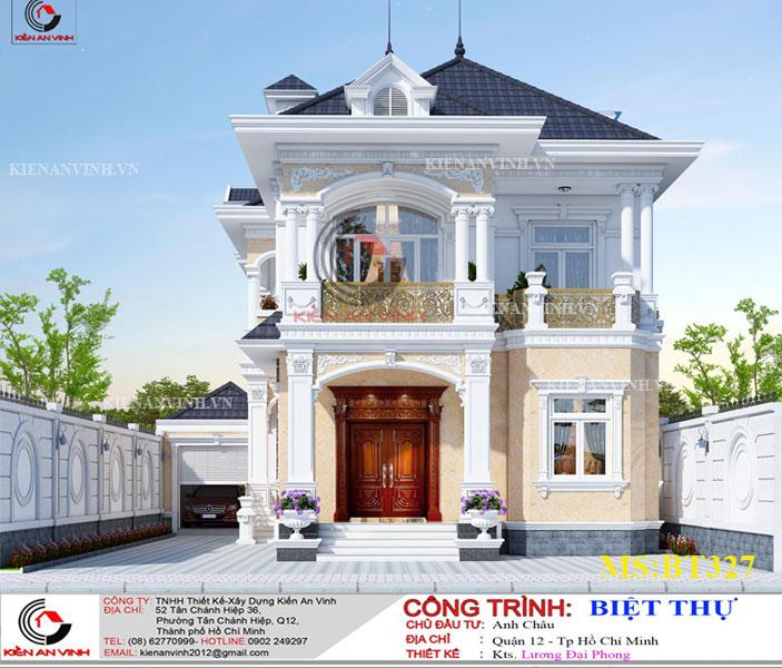 Mẫu Biệt Thự Mái Thái đẹp Năm 2019-2