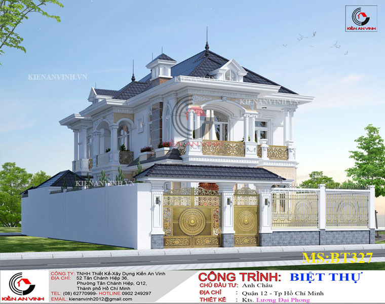 Mẫu Biệt Thự Mái Thái đẹp Năm 2019-3