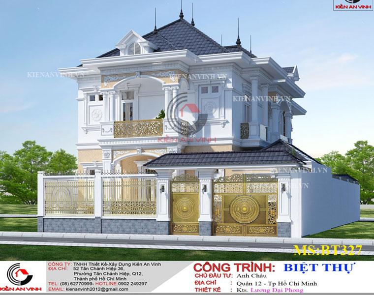 Mẫu Biệt Thự Mái Thái đẹp Năm 2019-4