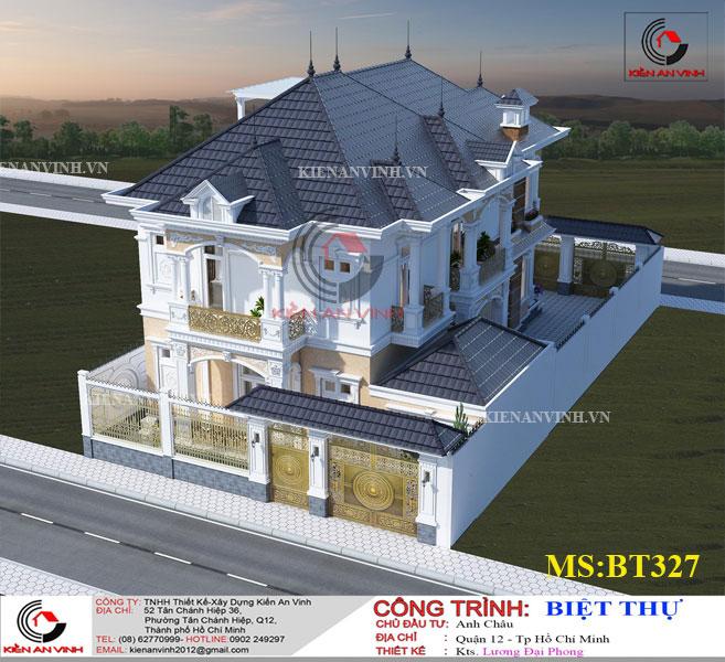 Mẫu Biệt Thự Mái Thái đẹp Năm 2019-5