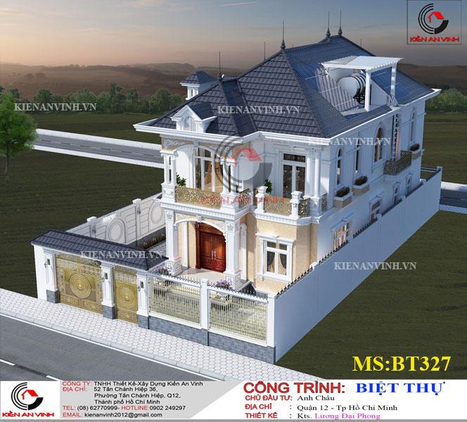 Mẫu Biệt Thự Mái Thái đẹp Năm 2019-7