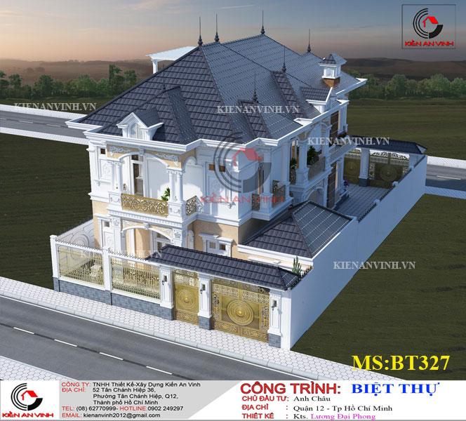 Mẫu Biệt Thự Mái Thái đẹp Năm 2019-8