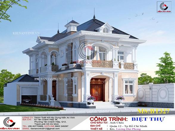 Mẫu Biệt Thự Mái Thái đẹp Năm 2019