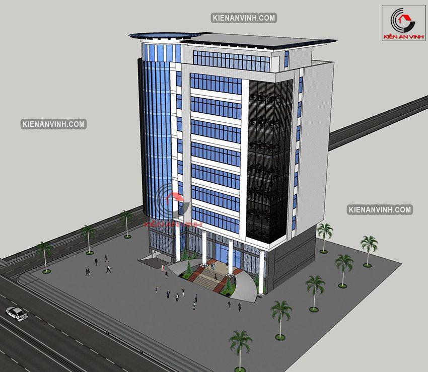 Thiết Kế Tòa Nhà Văn Phòng Hiện đại - 10